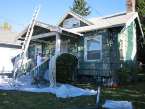 A PCRI home in King gets painted